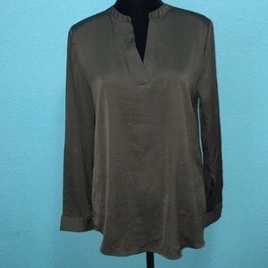 Chicos's Military green tunic Size 1
